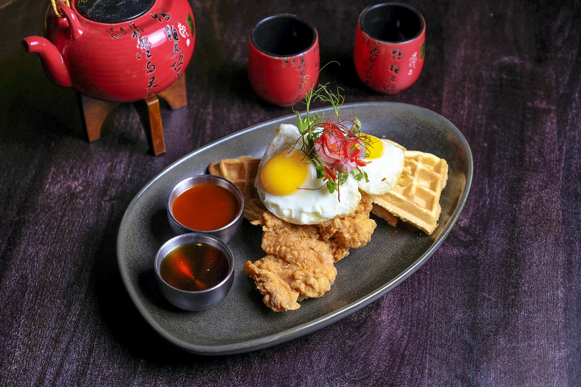Chicken and Waffles - CH'I